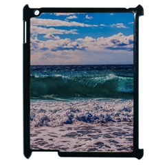 Wave Foam Spray Sea Water Nature Apple Ipad 2 Case (black) by Amaryn4rt