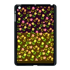 Flowers Roses Floral Flowery Apple Ipad Mini Case (black) by Amaryn4rt