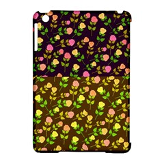 Flowers Roses Floral Flowery Apple Ipad Mini Hardshell Case (compatible With Smart Cover) by Amaryn4rt