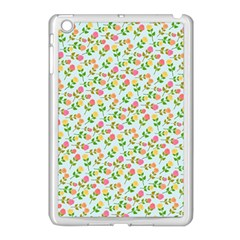 Flowers Roses Floral Flowery Apple Ipad Mini Case (white) by Amaryn4rt