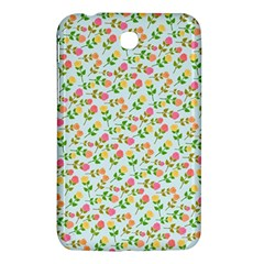 Flowers Roses Floral Flowery Samsung Galaxy Tab 3 (7 ) P3200 Hardshell Case  by Amaryn4rt
