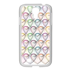 Valentine Hearts 3d Valentine S Day Samsung Galaxy S4 I9500/ I9505 Case (white) by Amaryn4rt