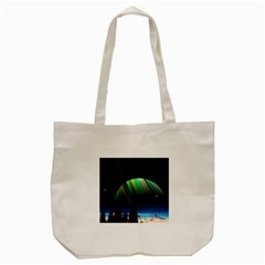 Planets In Space Stars Tote Bag (cream) by Amaryn4rt