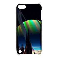 Planets In Space Stars Apple Ipod Touch 5 Hardshell Case With Stand by Amaryn4rt