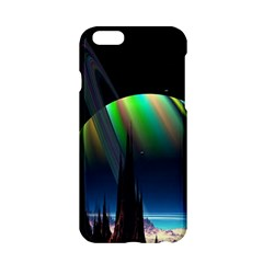 Planets In Space Stars Apple Iphone 6/6s Hardshell Case by Amaryn4rt