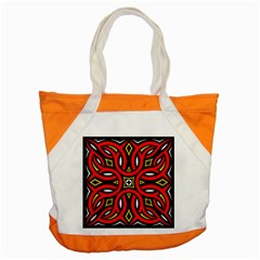 Traditional Art Pattern Accent Tote Bag by Amaryn4rt