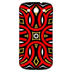 Traditional Art Pattern Samsung Galaxy S3 S Iii Classic Hardshell Back Case by Amaryn4rt