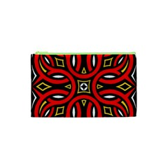 Traditional Art Pattern Cosmetic Bag (xs)
