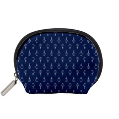 Anchor Pattern Accessory Pouches (small)  by Amaryn4rt