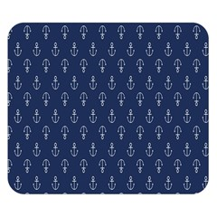 Anchor Pattern Double Sided Flano Blanket (small)  by Amaryn4rt