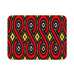 Toraja Traditional Art Pattern Double Sided Flano Blanket (Mini)  35 x27 Blanket Back