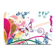 Butterfly Vector Art Plate Mats by Amaryn4rt