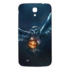 Owl And Fire Ball Samsung Galaxy Mega I9200 Hardshell Back Case by Amaryn4rt