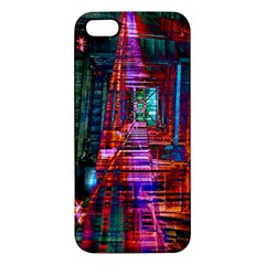 City Photography And Art Apple Iphone 5 Premium Hardshell Case by Amaryn4rt