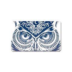 Owl Magnet (name Card) by Amaryn4rt