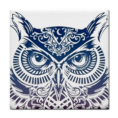 Owl Face Towel by Amaryn4rt