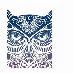 Owl Large Garden Flag (two Sides)