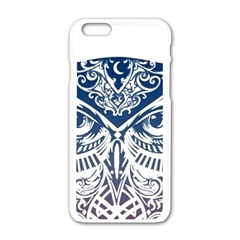 Owl Apple Iphone 6/6s White Enamel Case by Amaryn4rt