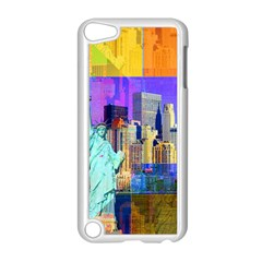 New York City The Statue Of Liberty Apple Ipod Touch 5 Case (white) by Amaryn4rt