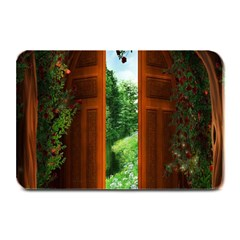 Beautiful World Entry Door Fantasy Plate Mats
