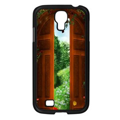 Beautiful World Entry Door Fantasy Samsung Galaxy S4 I9500/ I9505 Case (black)