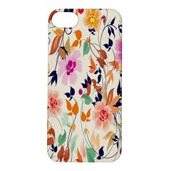 Vector Floral Art Apple Iphone 5s/ Se Hardshell Case by Amaryn4rt