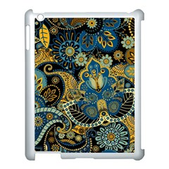 Retro Ethnic Background Pattern Vector Apple Ipad 3/4 Case (white) by Amaryn4rt