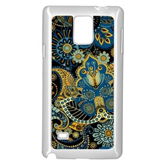 Retro Ethnic Background Pattern Vector Samsung Galaxy Note 4 Case (white) by Amaryn4rt