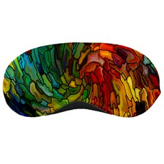 Stained Glass Patterns Colorful Sleeping Masks