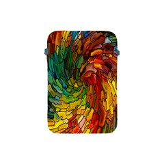 Stained Glass Patterns Colorful Apple Ipad Mini Protective Soft Cases by Amaryn4rt