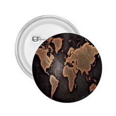Grunge Map Of Earth 2 25  Buttons