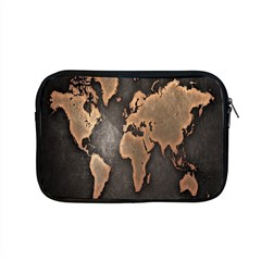 Grunge Map Of Earth Apple Macbook Pro 15  Zipper Case