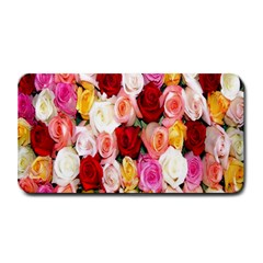 Rose Color Beautiful Flowers Medium Bar Mats