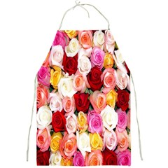 Rose Color Beautiful Flowers Full Print Aprons by Amaryn4rt