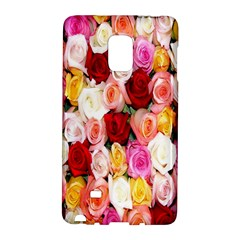 Rose Color Beautiful Flowers Galaxy Note Edge by Amaryn4rt