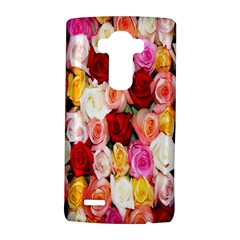 Rose Color Beautiful Flowers Lg G4 Hardshell Case