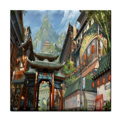 Japanese Art Painting Fantasy Tile Coasters