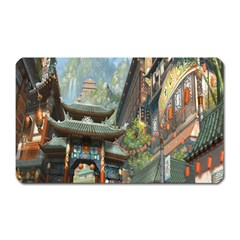 Japanese Art Painting Fantasy Magnet (rectangular)