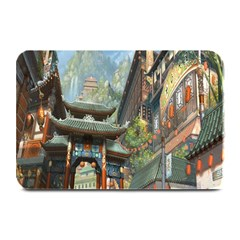 Japanese Art Painting Fantasy Plate Mats by Amaryn4rt
