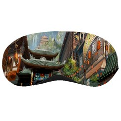 Japanese Art Painting Fantasy Sleeping Masks by Amaryn4rt