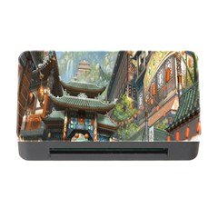 Japanese Art Painting Fantasy Memory Card Reader With Cf by Amaryn4rt