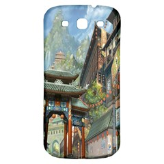 Japanese Art Painting Fantasy Samsung Galaxy S3 S Iii Classic Hardshell Back Case by Amaryn4rt