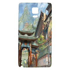 Japanese Art Painting Fantasy Galaxy Note 4 Back Case