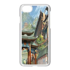 Japanese Art Painting Fantasy Apple Iphone 7 Seamless Case (white)