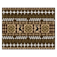 African Vector Patterns Rectangular Jigsaw Puzzl