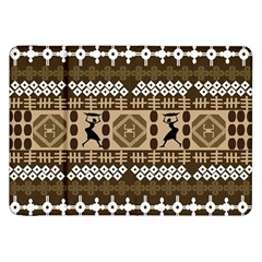 African Vector Patterns Samsung Galaxy Tab 8 9  P7300 Flip Case