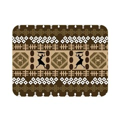 African Vector Patterns Double Sided Flano Blanket (mini)