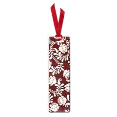 Flower Leaf Pink Brown Floral Small Book Marks by Alisyart