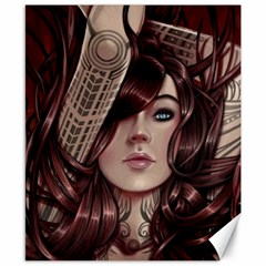 Beautiful Women Fantasy Art Canvas 8  X 10  by Amaryn4rt