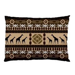 African Vector Patterns  Pillow Case by Amaryn4rt
